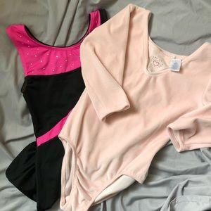 Freestyle Dance/Gymnastics Wear Bundle of 2 Large